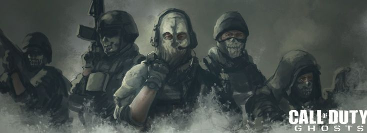 Vídeo Game Call Of Duty: Ghosts  Soldier Papel de Parede