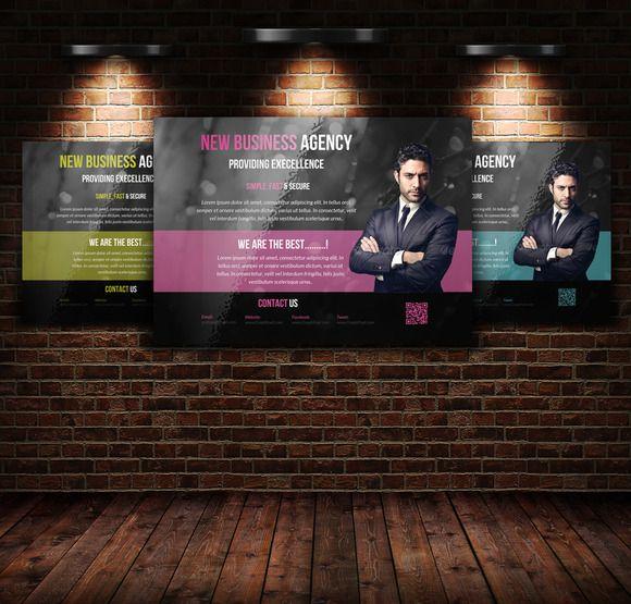 Business Horizontal Flyer Template | Flyer Template ...