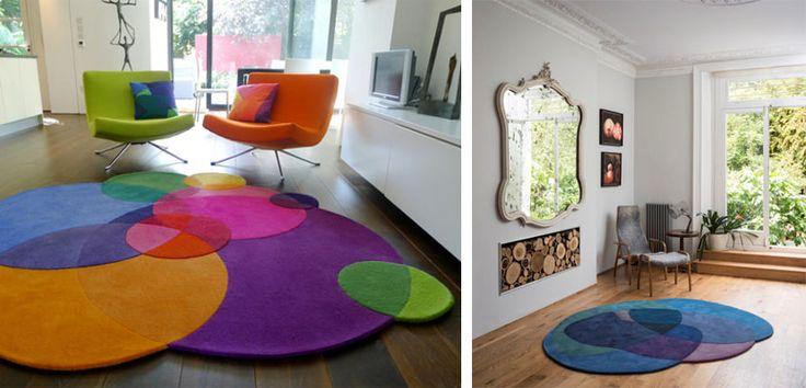 Alfombras coloridas de Sonya Winner - http://www.decoora.com/alfombras-coloridas-de-sonya-winner.html