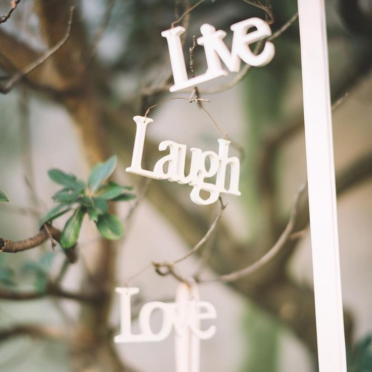 Live Laugh Love #wedding #details #letters #Ravello #Amalfi #coast #italy