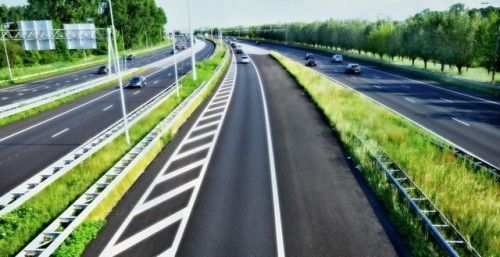 Motorway Road Markings in Westgate #Motorway #Marking #Westgate...