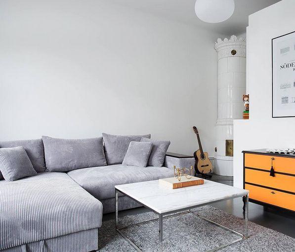 Silver Björnen divansoffa. Divan, soffa, manschester, grå, djup, förvaring, compact living, smart, möbler, inredning, sovrum, vardagsrum. http://sweef.se/soffor/52-bjornen-baddsoffa-divan.html