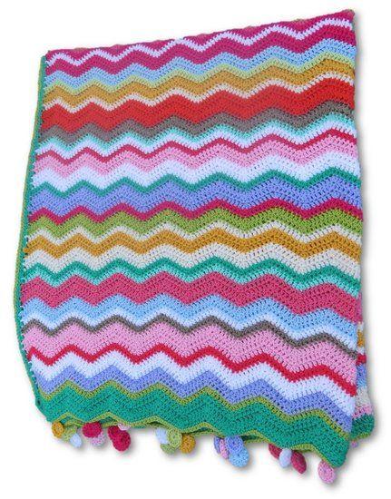 Spring ripple deken -> Online bestellen bij Cronelia.nl  VERKOCHT