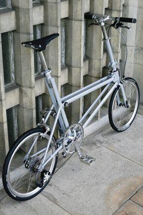 Whippet Bicycle: A British Folding Bike Designed for Urban Living - Design Milk