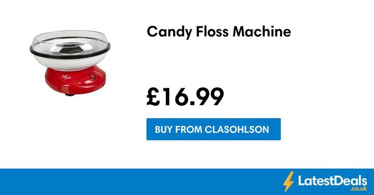 Candy Floss Machine, £16.99 at Clasohlson