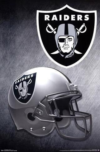 NFL Oakland Raiders Football Helmet Wall Poster Art Print Affiliate https://www.fanprint.com/licenses/oakland-raiders?ref=5750