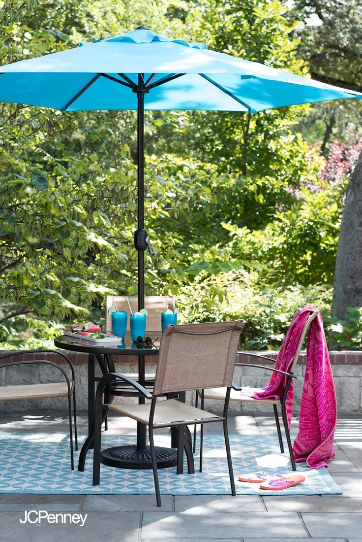 Bust Out The Frozen Margaritas And Tasty Tapas Because This Patio