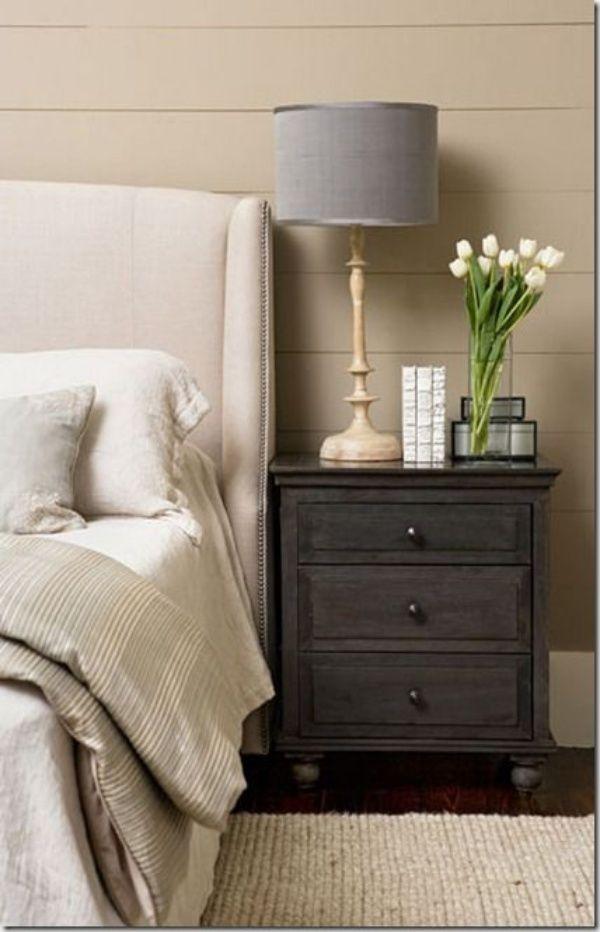 40 Bedside Table Decor Ideas To Fill That Odd Gap Bedroom Night