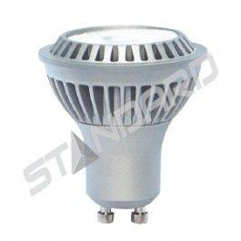 Standard 6.5W LED GU10 Flood Dimmable 3000K Warm White Light Bulb