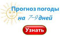 Погода в Омске на неделю, на семь (7) дней. Прогноз погоды на 7-9 дней