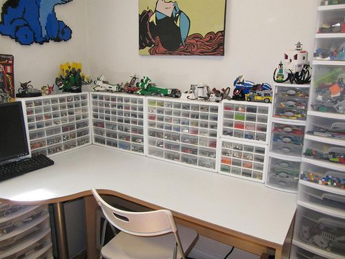 """""""Sorting, organizing, and storing your LEGO – the second hobby [Essay]""""     Finally!  A post on organization that emphasizes EXPANSION."""