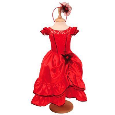 Flamenco Dress - Childrens & Baby Fancy Dress - FudgeKids.Com is based in the UK