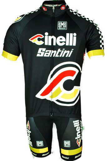 Cinelli Santini Jersey Made In Italy