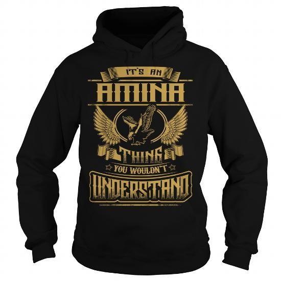 I Love AMINA AMINAYEAR AMINABIRTHDAY AMINAHOODIE AMINANAME AMINAHOODIES  TSHIRT FOR YOU Shirts