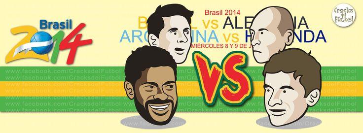 Brasil 2014 Semi's
