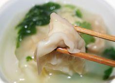 Voici mes créations : Foto-recette:  Soupe Won Ton    Ingrédients:1 paquet de feuille...