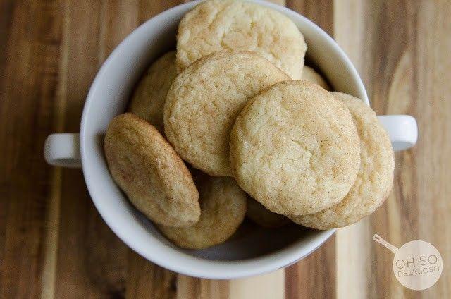 Soft SnickerDoodle Cookies - Cookies - Desserts - Recipe Index