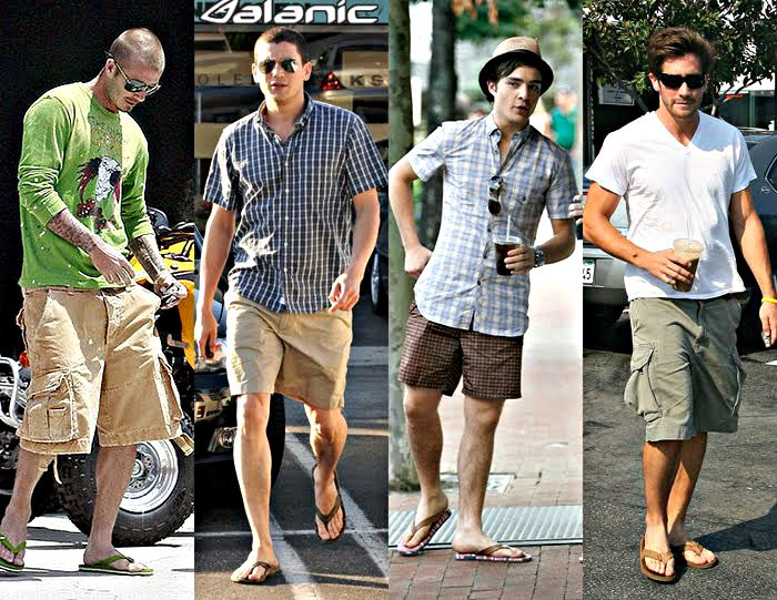 Sport a Pair of Flip Flops in a Casual Yet Stylish Way!