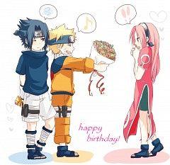 Aww Happy Birthday to Sakura ^^ #naruto #sasuke #sakura