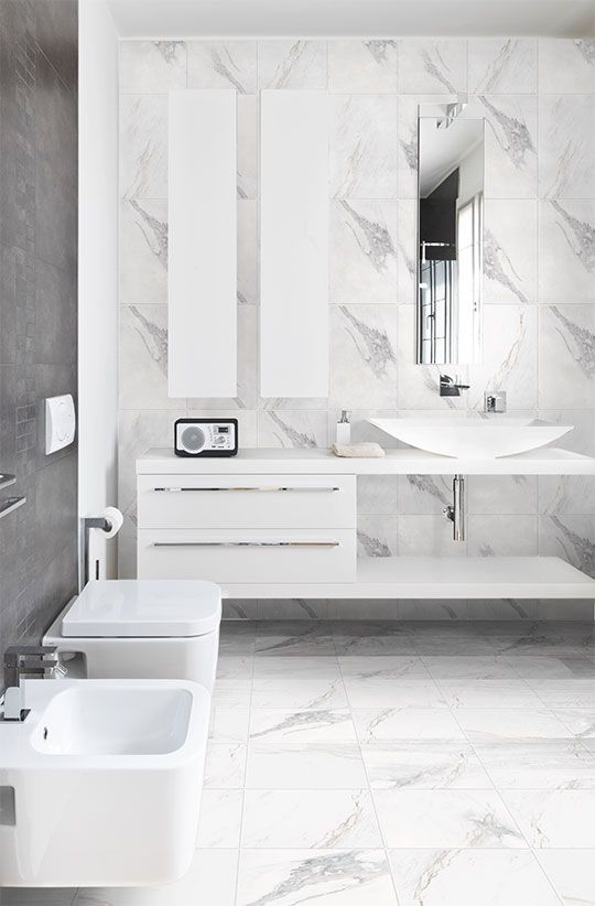 The #Marmoro range will give you the look of marble that's associated with luxury and quality. #colortile #sydneytiles