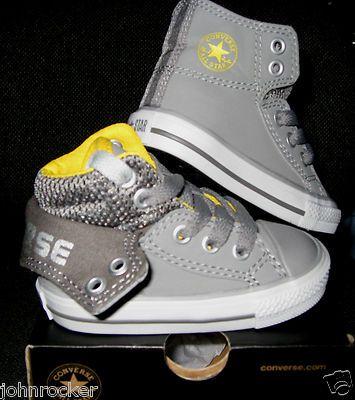 little Chucks for Carter. SOO cute. Who said boys didn't have cute shoes too