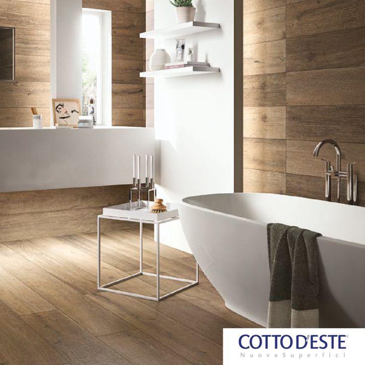 #Cadore. The #wood planks of the #Dolomites.  #Gres porcellanato 20 mm, #gres porcellanato 14 mm Nelle tinte: #Alpe, #Baita, #Bosco, #Malga.   Discover it: http://www.cottodeste.it/it/Prodotti/