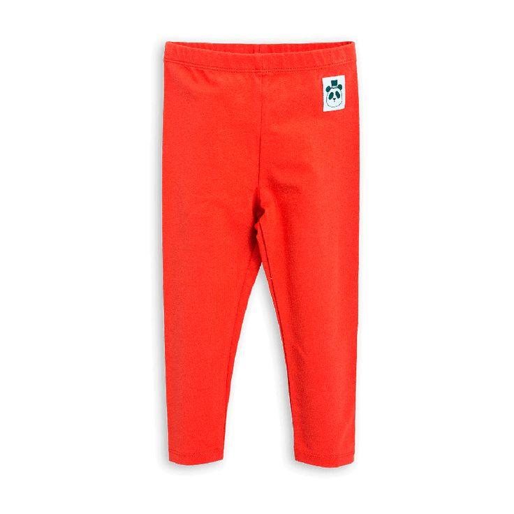 Basic leggings in red Mini Rodini