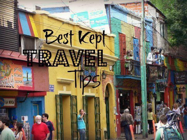 Best kept (and a little bit random) travel tips