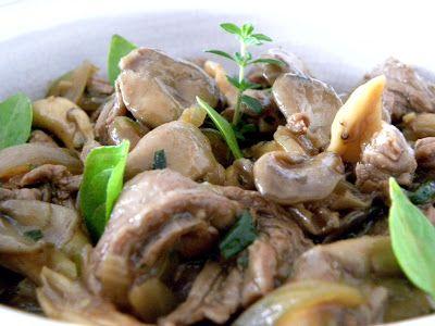 O Cozinheiro de fim de semana: Carne com Shimeji e Molho de Ostras.
