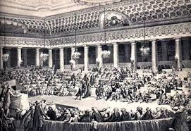 Nation Assembly : During the French Revolution, the National Assembly (French: Assemblée nationale), which existed from June 13, 1789 to July 9, 1789, was a revolutionary assembly formed by the representatives of the Third Estate (the common people) of the Estates-General