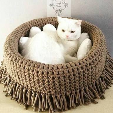 Resultado de imagem para crochet+gato+nuvens