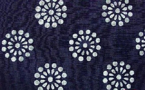 Metráž-modrotlač
