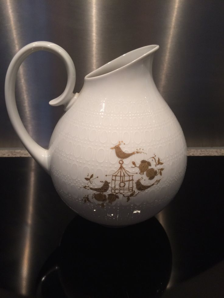 Beautiful Pitcher 'Romance' by Bjorn Wiinblad for Rosenthal 70s 80s by AtRathjes on Etsy