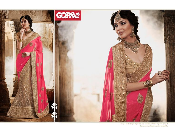 Recreate Effervescent Magic of The Sultry Six Yards! With #Gopal  #Sarees #TraditionalWear #OnlyGopal