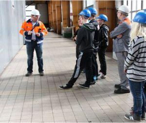 Techniktage 2013 in Salzgitter- Was will ich später mal lernen? Welcher Beruf könnte für mich spannend sein?