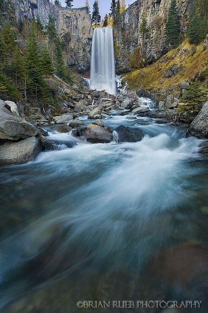Tumalo Falls by chaybert