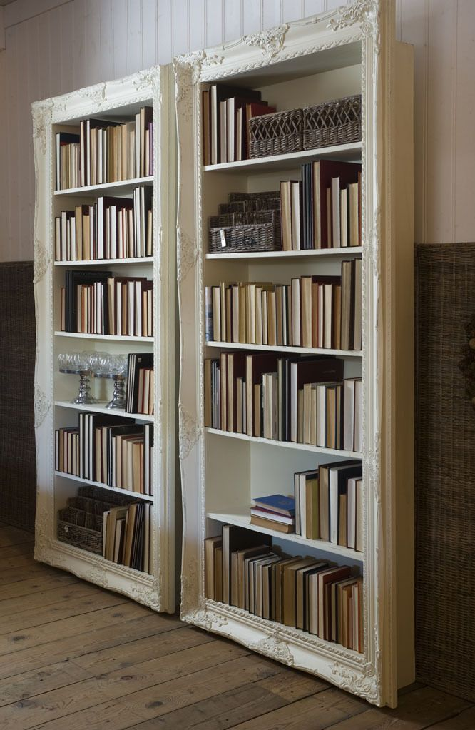 Long Bar Library Book Case From Riviera Maison   Two Picture Frames U0026  Shelves! DIY Framed Bookcases: ...