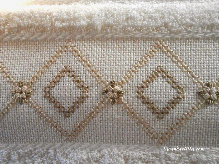 Lavanda e Lillà: Asciugamano con Tutorial