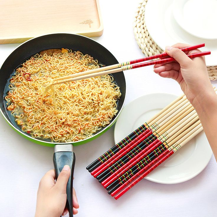 2016 New 6 Pair/Set Cook Noodles Super Long Bamboo Chopsticks Deep Fried Chafing Dish Hot Pot Chinese Restaurant Free Shipping