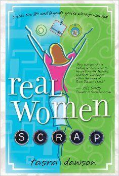 September 2016- Book Club - Real Women Scrap by Tasra Dawson. (not an affiliate link, endorsement, or sponsorship) #christian #scrapbooking #bookclub #christianbooks