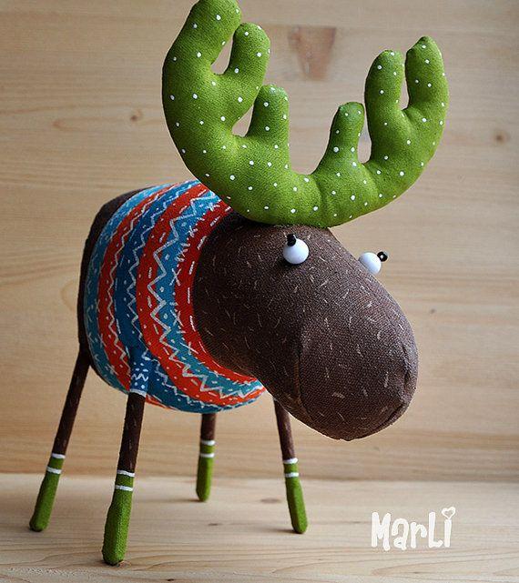 my dear deer by MarLitoys on Etsy