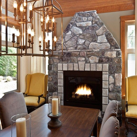 Interior Stone Wall Fireplace Prefab Fieldstone Fireplaces: 34 Best Images About Dressed Field Stone: Cultured Stone
