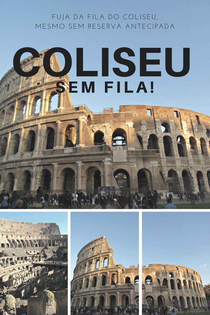 Saiba como comprar seu ingresso do Coliseu sem enfrentar uma baita fila!