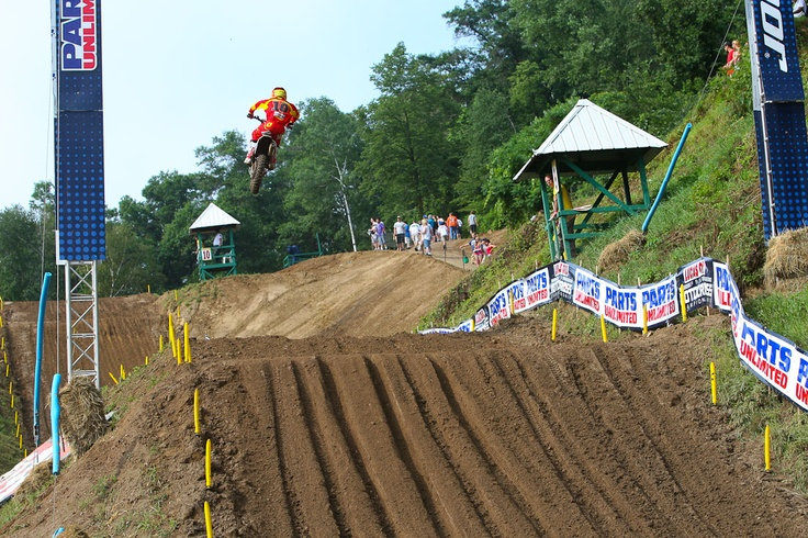 Picture 112038 « Spring Creek 2012: Practice Report | Features, Motocross, News, Photos | Transworld Motocross. Beautiful big jumps at Millville