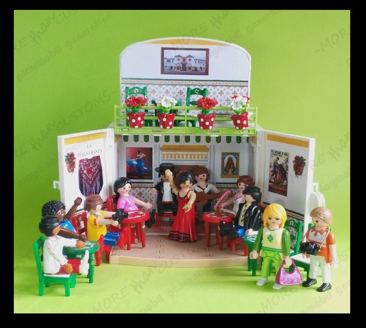 TABLAO FLAMENCO - FLAMENCO SHOW (TYPICAL SPANISH) https://www.youtube.com/watch?v=-2IJB51hmig  — en Seville, Spain.  #playmobil #customplaymobil #tablao #flamenco
