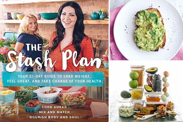 Get recipes from actress Laura Prepon's cookbook The Stash Plan, including Turkey Meatballs, Parcel-Poached Salmon and Gluten-Free Almond Bread.