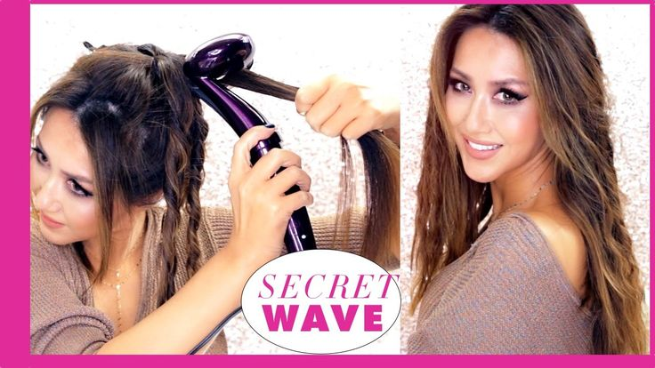 5-Minute Waves with the LATEST automatic curling Iron #hairstyles