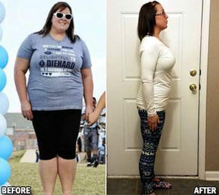 Είναι 31 ετών και μητέρα δυο παιδιών. Έχει ύψος 170cm και το αρχικό βάρος της ήταν 125 κιλά. ;Έφτασε στα 69 και η μέση της πλέον έχει περίμετρο 99 εκατοστά.