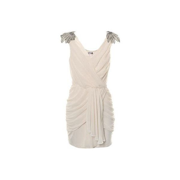 Draped Dresses, another elegance. found on Polyvore