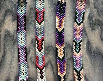 Tribal Macrame Friendship Bracelets